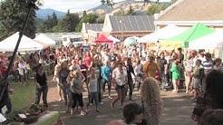 Gorge Grown Farmers' Market Flash Mob in Hood River