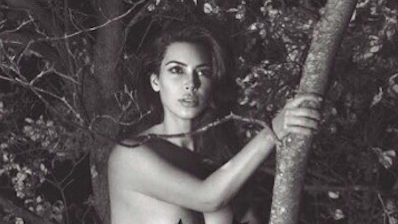 Kim Kardashian Posts NEW NAKED Pic in CRAZY Location - YouTube