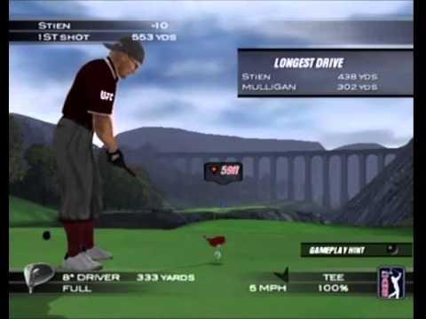 Tiger Woods 2004 Stien vs Mulligan Mcgregor
