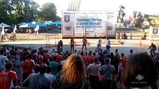 Чемпионат Украины по Street Workout 2016 ч.36 - Соревнование среди зрителей ч.2