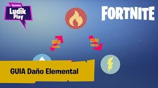 GUIDE ELEMENTAL DAMAGE ? FORTNITE SAVE THE WORLD Spanish GUIDE