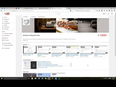 Wikipedia Tutorial: Creating Internal Links and Wikifying your Article