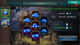 Legacy of Discord Ganhando Diamantes
