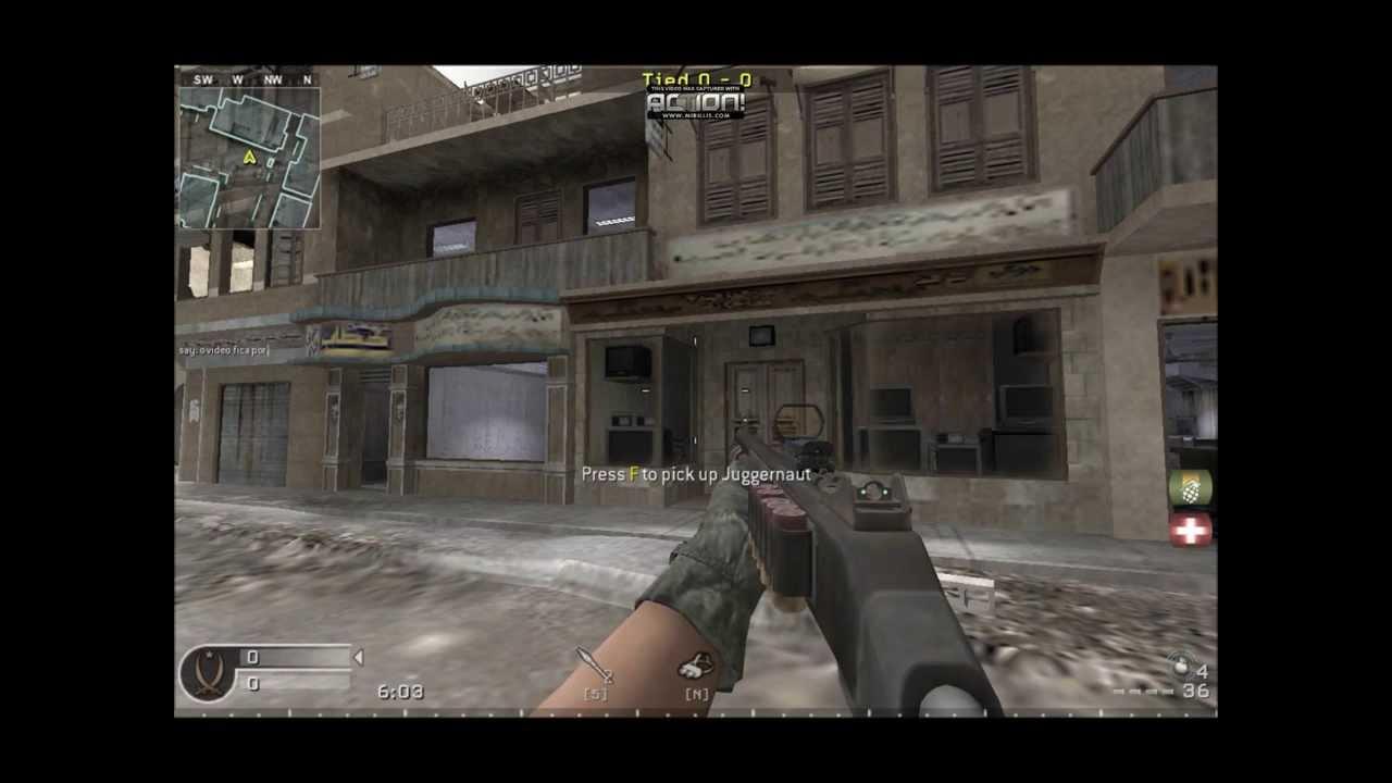 Call of Duty 4 Modern Warfare , Old School Mode Localizações de  Equipamentos 1