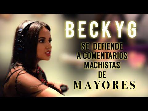Thumbnail: Becky G se Defiende a Comentarios Machistas de Mayores (Subtitulado)