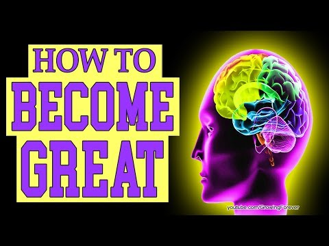 How To Become Great. Law of Attraction, Money Magnet, Subconscious Mind Power