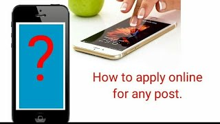 how to apply for job online / apply for job online / indeed search