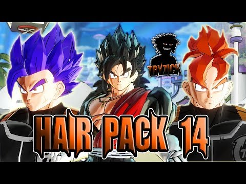 Ssj4 Custom Hair Hair Pack 14 Dragon Ball Xenoverse 2 Mods Youtube
