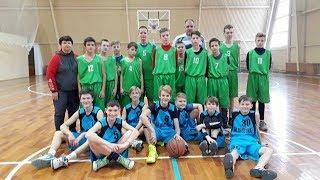 Товарищеская игра между баскетбольными командами ДЮСШ Конотоп-1 и БК Шостка 24.11.2018
