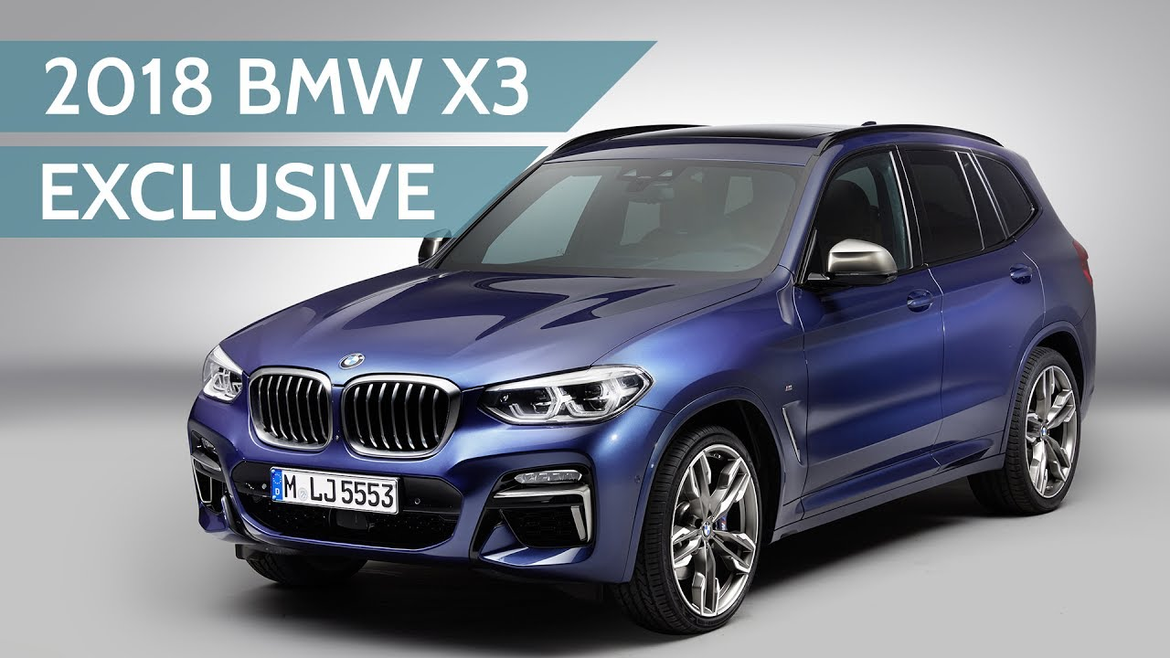 2018 bmw x3 revealed exclusive studio walkaround with. Black Bedroom Furniture Sets. Home Design Ideas