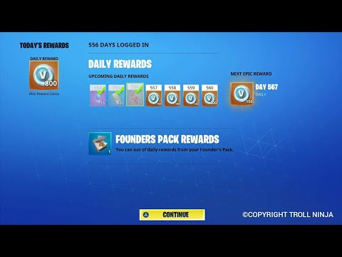 [!PATCHED!] Skip Daily Rewards In Fortnite STW!   Get More V-bucks Weekly