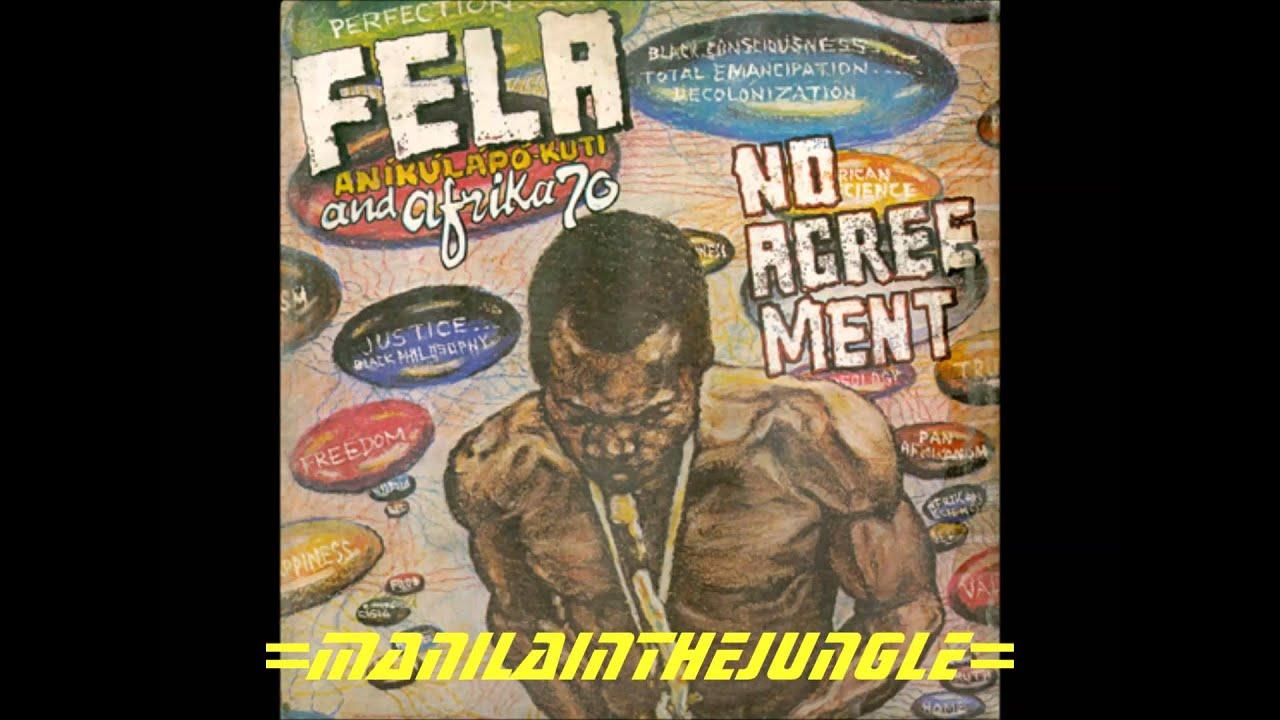 Fela Anikulapo Kuti And Africa 70 No Agreement 1977 Youtube