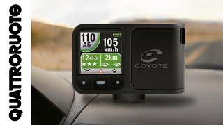 Coyote: come funziona il segnalatore di autovelox