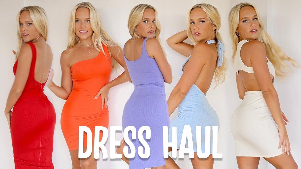 Fashion Nova Summer Dress Try On Haul
