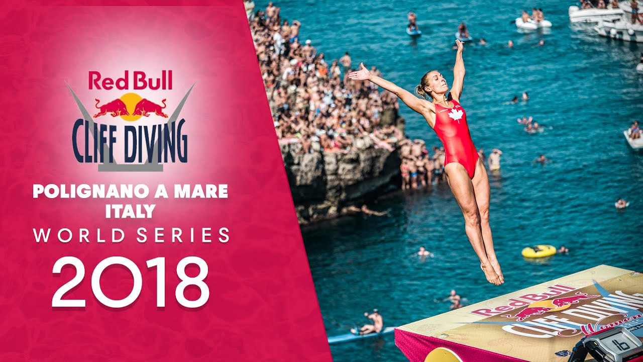 Red Bull Cliff Diving World Series 2018 Italy LIVE