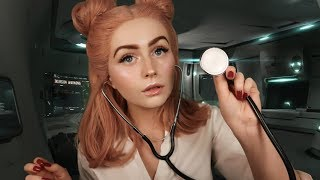 [ASMR] Sci-Fi Doctor Check-up Role-play