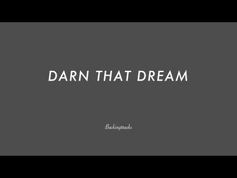DARN THAT DREAM chord progression - Backing Track (no piano)