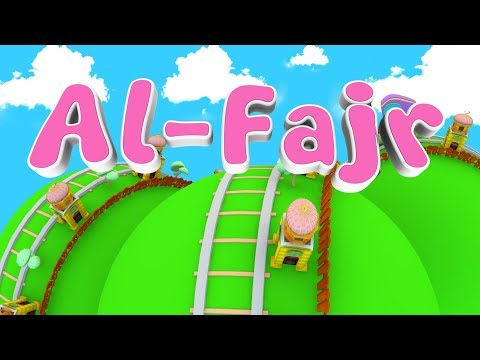 Animation 3D Juz Amma Al Fajr Recite Quran Children With Battar Trains Hijaiyah | ABATA Channel