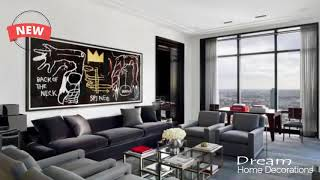Home Decoration Styles for Modern Homes Male look at modern Interior of the male living room