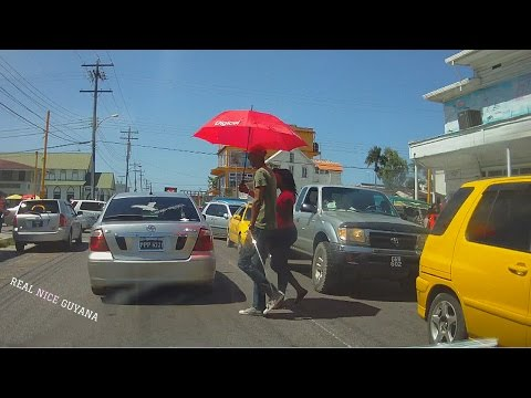 A Driving Tour of Georgetown Guyana (HD)