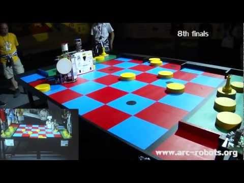 Zamorano Tribute - Eurobot 2011 - EuRobotics Engineering Spain