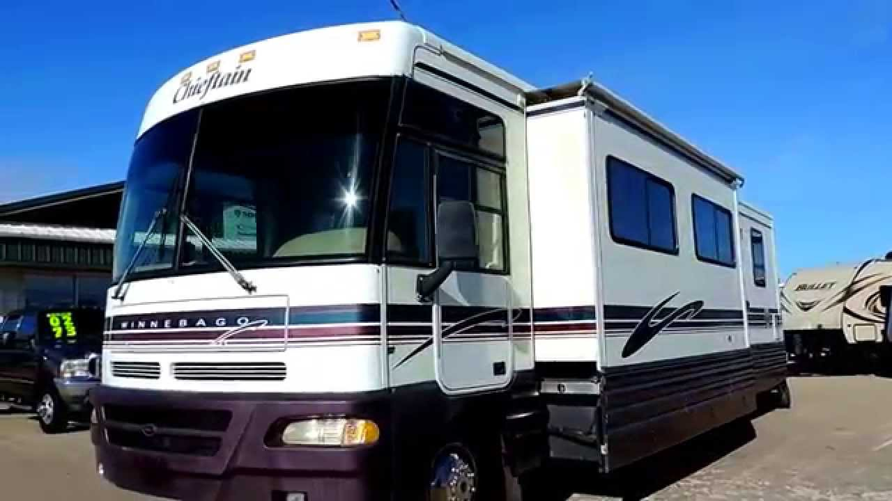 Nice Clean 35 U0026 39  1999 Winnebago Chieftain 35u 2