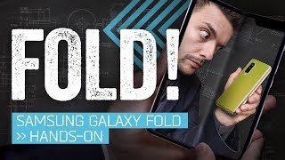 Galaxy Fold Hands-On: The Folding Phone Is Back!