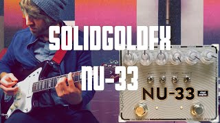 Writing Songs With the SolidGoldFX: NU-33 Vinyl Engine