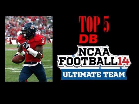 Top 5 Corner Backs in NCAA 14