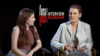 'A Simple Favor' Interview