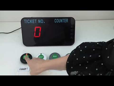 Ticketing/queuing system configuration & operation