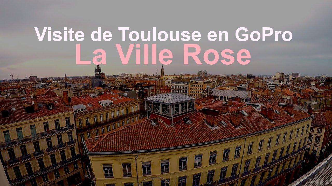 Visite de la ville rose welcome to toulouse youtube for Piscine jardin toulouse