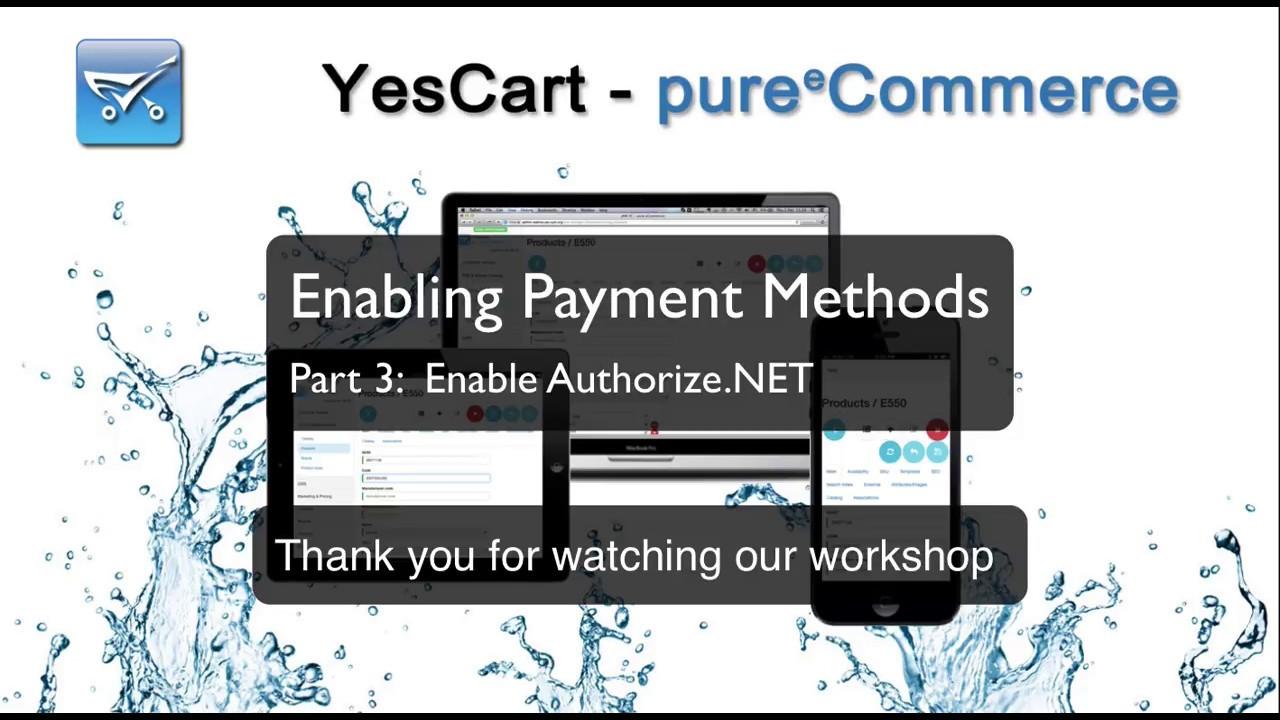 Payment methods - Documentation - YesCart - pure eCommerce