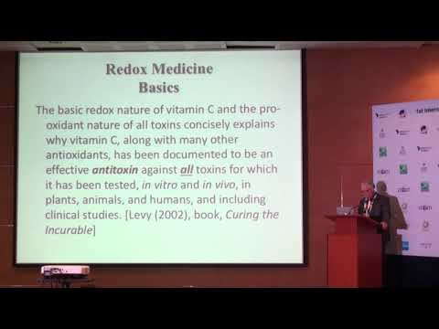 Death by Calcium,Redox Balance,Chronic Disease & Vitamin C by Dr Thomas Levy