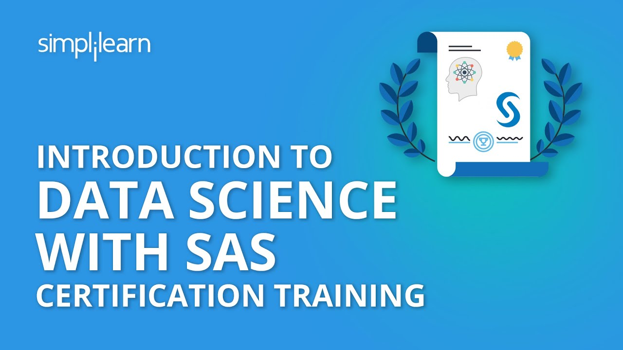Introduction To Data Science With Sas Certification Training