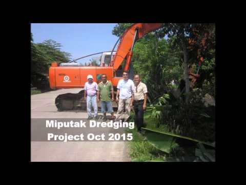 Dredging Miputak Creek October 2015