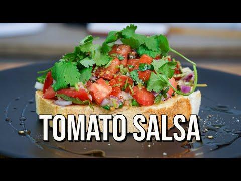 Tomato Salsa   Easy Salsa Recipe