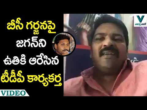 TDP Supporter Strong Counter to YS Jagan - Vaartha Vaani