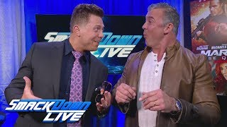The Miz wants to jump right into competition, but Shane McMahon thi...