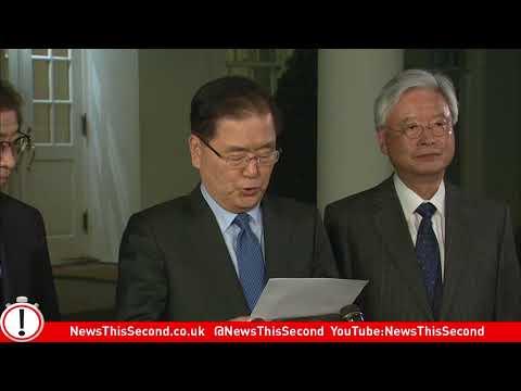 North Korea Talks: White House Statement on Trump/Kim Jong Un Meeting