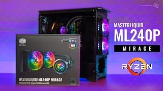 HOWTO Cooler Master MasterLiquid ML240P Mirage AM4 Install Guide