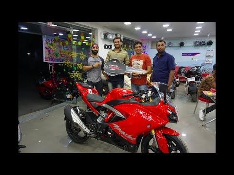 Taking Delivery of the TVS Apache 310 RR