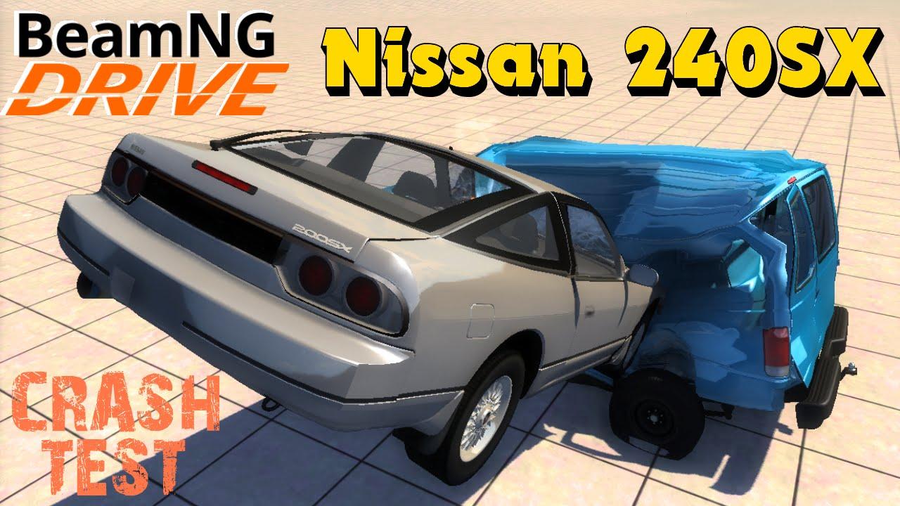 BeamNG DRIVE mod car Nissan 240SX