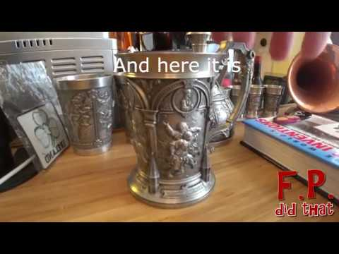 How to fix dings in pewter using Friendly Plastic
