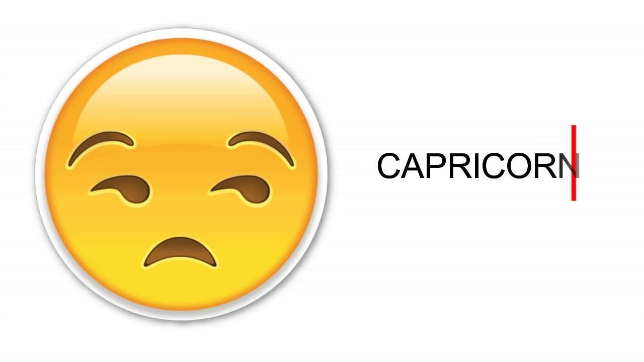 Capricorn Emoji Emoji World