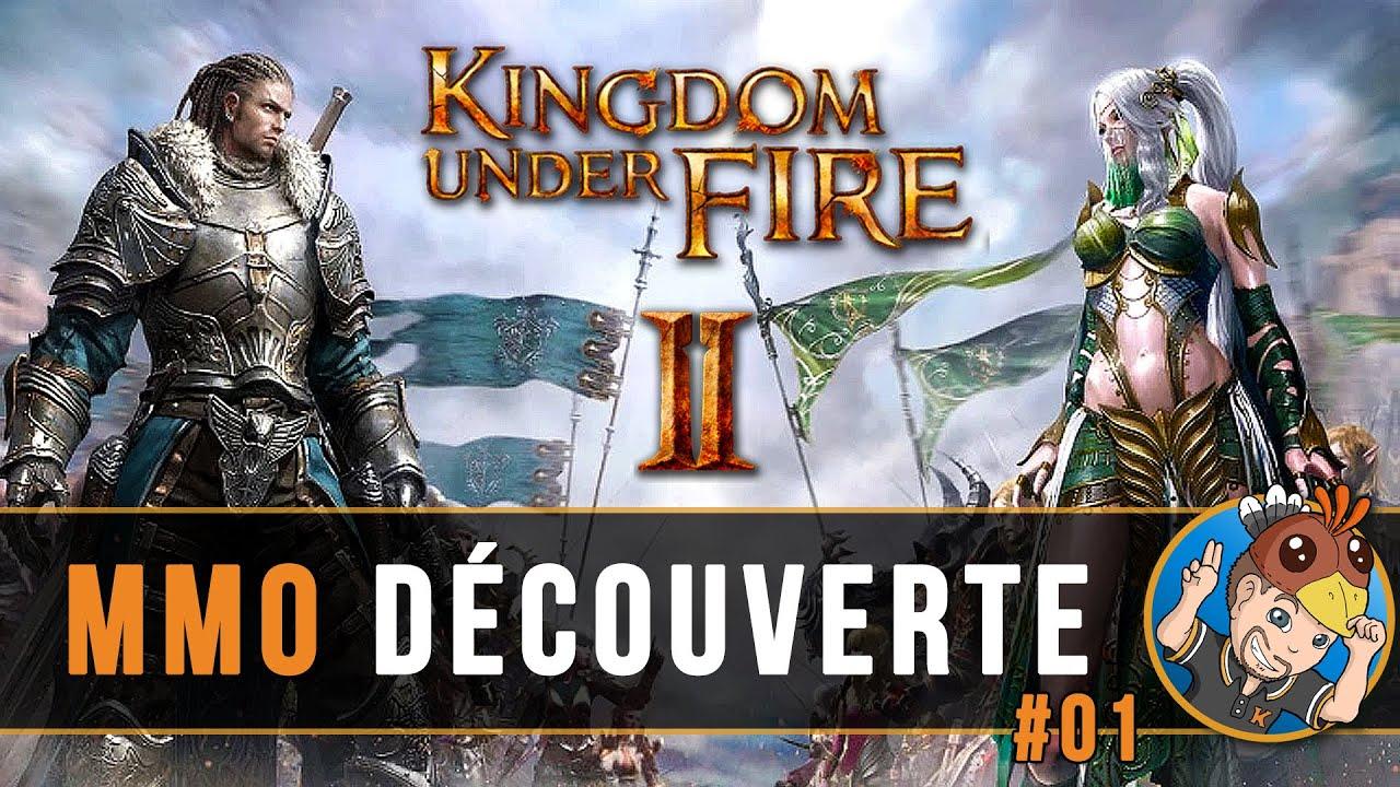 Download KINGDOM UNDER FIRE 2 : MMO Découverte, mon perso est tellement classe ! #01