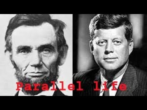 Parallel Life : Lincoln and Kennedy.