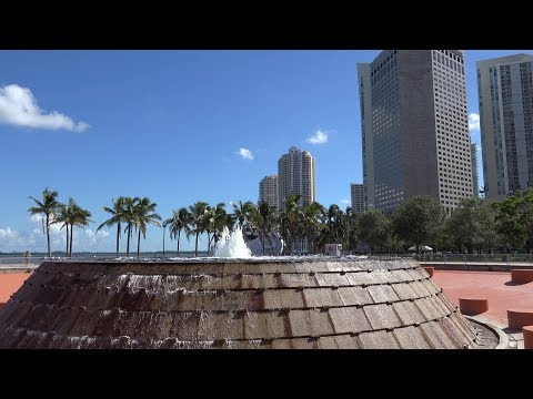USA Florida - Downtown Miami At Bayside And Bayfront Park
