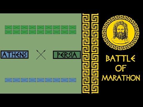 Battle of Marathon - Greco-Persian Wars (490 B.C.E.)