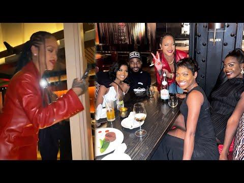 Watch-Rihanna-CRASH-a-Fans-Birthday-Dinner